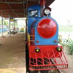 Kagal dighi in old digha toy train