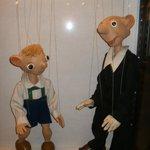 Spejbl und Hurvínek in der Dauerausstellung