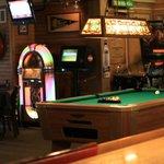 Game area: Pool table, shuffleboard, pinball, race car and more!