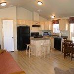 Kitchen/Living Room in Two Bedroom