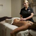 Hot Stone Massage at Shaw Spa