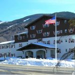 Winter in Scenic Franconia Notch NH