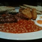The Large Breakfast at £4.40