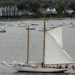 This is the schooner we were on. she is on her way with another tour.