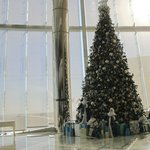 spettacolare albero di Natale