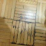 floor ..yuck