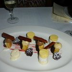 A collection of sweets to end a perfect meal.