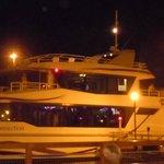 Catamarán, paseo nocturno