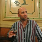 Roving Professor drinks a post meal Brandy