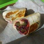 Delicious Veggie Wrap!