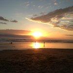 Sunset at beach 3 minutes away