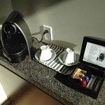 Room's coffee machine