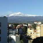 Actually a view of ETNA from a corridor window