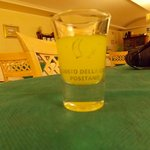 Limocello at hotel restaurant
