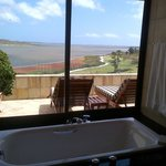 Bathroom with a View of The Lagoon