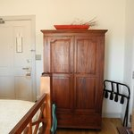 Armoire, not closet