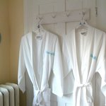 We have comfy cotton robes for guests