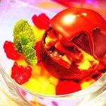 Atmosphère chocolat et fruits