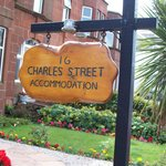 Sign for 16 Charles Street