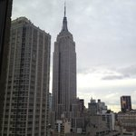 Empire State from our room by day