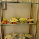 Petit déjeuner >> Desserte de fruits