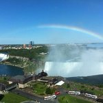 View of Horseshoe and American Falls from Hotel Room