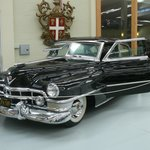 *Mickey Cohen's armour plated 1950 Cadillac (*Movie: Gangster Squad)