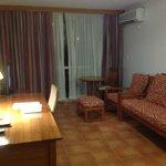 Living Area - Room 406