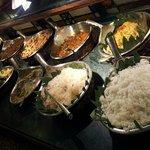 The Cabalen buffet spread