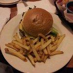 Angus cheeseburger