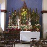 The chapel at Christmas