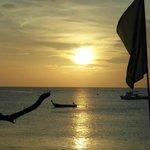 Solnedgången från Orchid Bar...