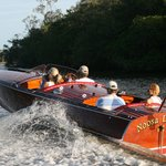 Classic Boat tours of the Noosa River and Lakes
