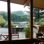 View from the lodge