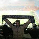San Siro'da Verona'yı destekleyen bir Türk olarak