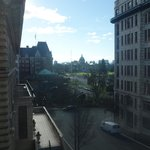 Daytime view of Parliament from window - even better at night!!!