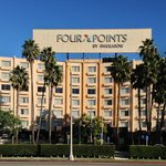 Front view of the Four Points LAX