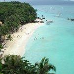 Diniwid beach and the beautiful swimming bay
