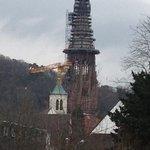 Munster cathedral winter+repair