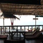 plage vue du lounge
