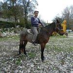 Horseback riding brief orientation.