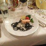 31-Dec-2012 Dinner - served starter (salmon)