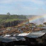 Victoria Falls - 5 minutes walk through hotel grounds