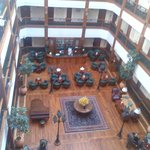 View of the Atrium from our floor