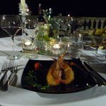 Beautifully presented and delicious food