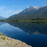 El espejo del Lago Epuyen