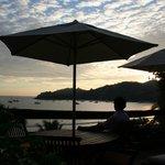 evening - hotel terrace