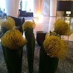 Reception floral decor