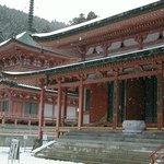 雪の延暦寺