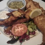 Fish and chips - lunch menu